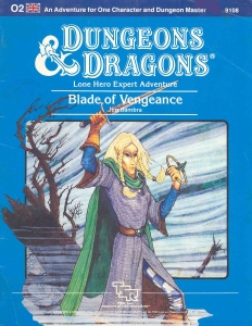 Cover of O2 Blade of Vengeance