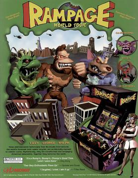 Rampage World Tour Wikipedia