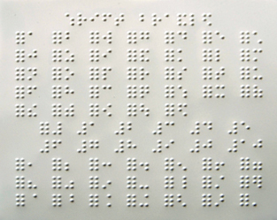 Simplicity image regarding braille printable