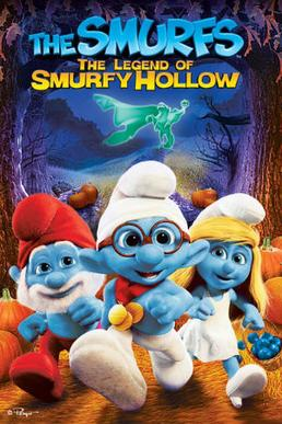 The Smurfs: The Legend of Smurfy Hollow / MP4 / 2013 / T�rk�e Altyaz�l�