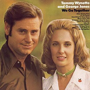 <i>We Go Together</i> 1971 studio album by George Jones and Tammy Wynette