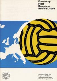 1961 European Cup Final Football match