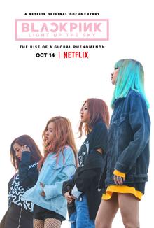 Blackpink Light Up the Sky 2020 USA Caroline Suh Jennie Kim Ji-soo Kim Lalisa Manoban  Documentary, Music