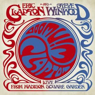 <i>Live from Madison Square Garden</i> (Eric Clapton and Steve Winwood album) 2009 live album by Eric Clapton & Steve Winwood