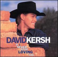 <i>If I Never Stop Loving You</i> 1998 studio album by David Kersh