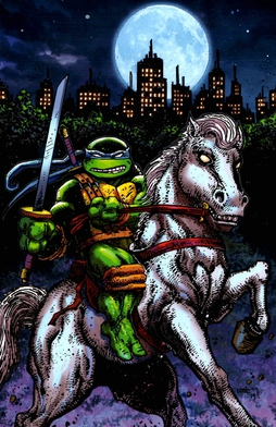 Image result for leonardo ninja turtle comic