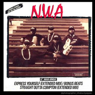 Straight Outta Compton (song) 1988 single by N.W.A.