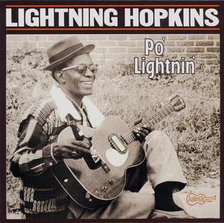 <i>Po Lightnin</i> 1983 compilation album by Lightnin Hopkins