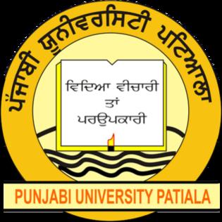Punjabi University Higher education institute in Patiala, Punjab, India