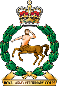 Royal Army Veterinary Corps cap badge.png