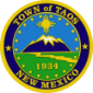 Official seal of Taos, New Mexico