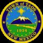 Oficiala sigelo de Taos, Nov-Meksiko