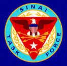 Official emblem of Task Force Sinai, the U.S. Contingent of the MFO.