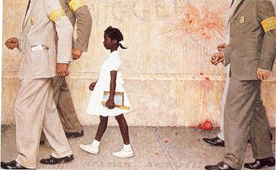 In a class of only one ruby bridges democratic underground for Norman rockwell siding