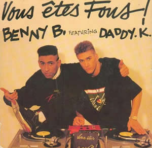 Vous êtes fous ! 1990 single by Benny B