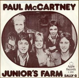 Cover image of song Juniors Farm by Wings