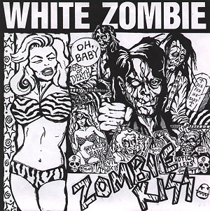 <i>Zombie Kiss</i> 1990 live album by White Zombie