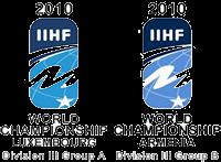 2010 IIHF World Championship Division III ice hockey tournament in Luxembourg and Armenia