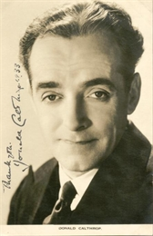 Donald Calthrop English actor