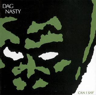 <i>Can I Say</i> 1986 studio album by Dag Nasty