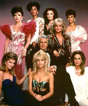 The soap opera Dynasty had a large influence o...