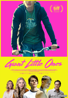 <i>Giant Little Ones</i> 2018 film directed by Keith Behrman