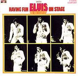 Having Fun with Elvis on Stage artwork