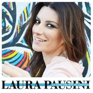Le cose che non mi aspetto 2012 single by Laura Pausini