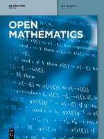 <i>Open Mathematics</i> scientific journal