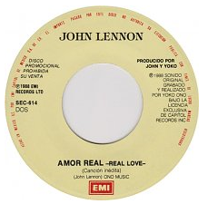 Real Love (Beatles song) 1979 song written and composed by John Lennon
