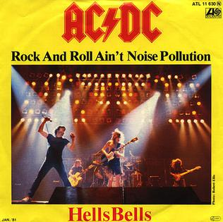 Rock and Roll Aint Noise Pollution Song of AC/DC