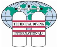 Technical Diving International Technical diver training and certification agency