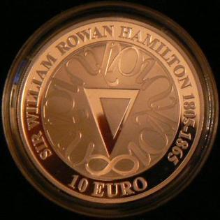 Irish commemorative coin celebrating the 200th Anniversary of his birth.