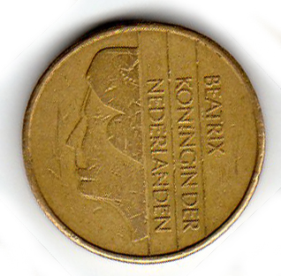 Five guilder coin (Netherlands)