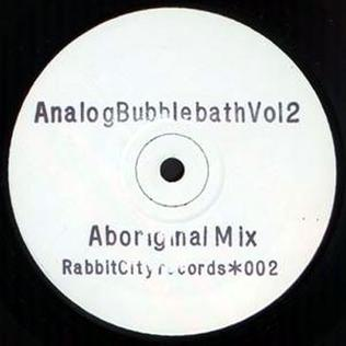<i>Analog Bubblebath Vol 2</i> 1991 EP by AFX