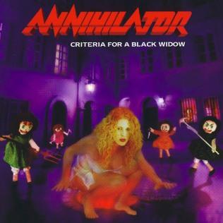 <i>Criteria for a Black Widow</i> 1999 studio album by Annihilator
