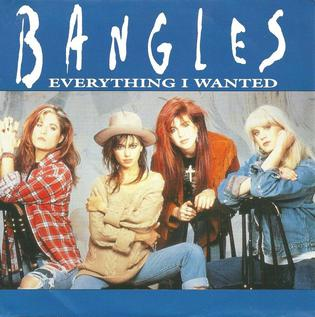 Everything I Wanted (The Bangles song) 1990 single by The Bangles