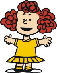 Frieda (<i>Peanuts</i>) character in the comic strip Peanuts