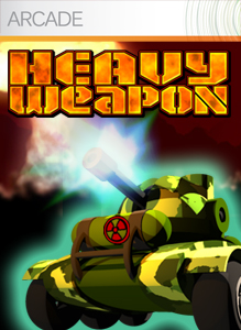 <i>Heavy Weapon</i> side-scrolling shoot em up video game