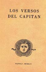 <i>Los versos del capitán</i> book by Pablo Neruda