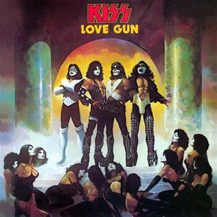 <i>Love Gun</i> 1977 studio album by Kiss