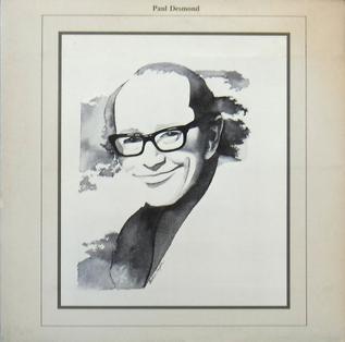 <i>Paul Desmond</i> (album) 1978 live album by Paul Desmond