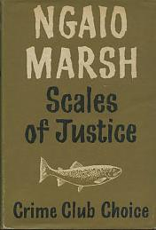 <i>Scales of Justice</i> (novel) book by Ngaio Marsh
