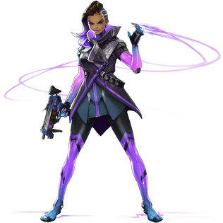 Sombra (<i>Overwatch</i>) fictional character in the 2016 video game Overwatch