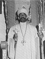 Abuna Takla Haymanot Patriarch of Ethiopia