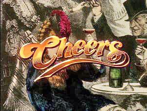 <i>Cheers</i> American sitcom