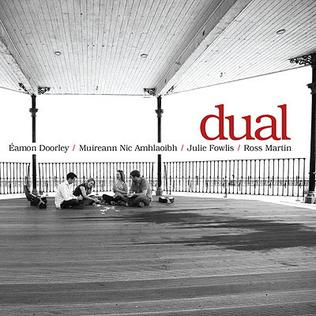 <i>Dual</i> (album) 2008 studio album by Éamonn Doorley, Muireann Nic Amhlaoibh, Julie Fowlis and Ross Martin