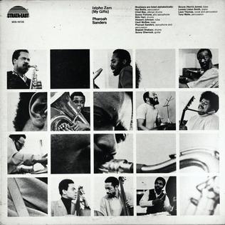 <i>Izipho Zam (My Gifts)</i> 1973 studio album by Pharoah Sanders