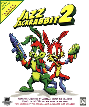 Picture of a game: Jazz Jackrabbit 2