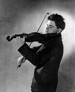 Josef Hassid Polish violinist